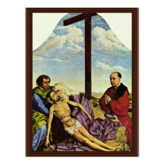 Lamentation Fragment By Weyden Rogier Van Der (Bes Postcard