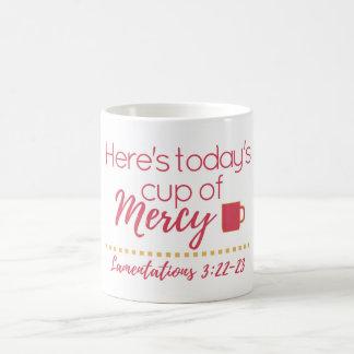 "Lamentations 3:22-23 ""Cup of Mercy"" Mug"