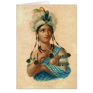 L'Amerique 1820 Card