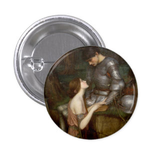 Lamia by John William Waterhouse 3 Cm Round Badge