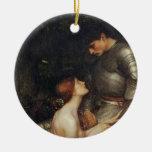 Lamia [John William Waterhouse] Christmas Tree Ornament