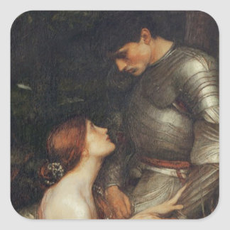 Lamia [John William Waterhouse] Square Sticker