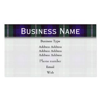Lamont clan Plaid Scottish tartan Pack Of Standard Business Cards