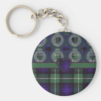 Lamont Scottish tartan Key Ring