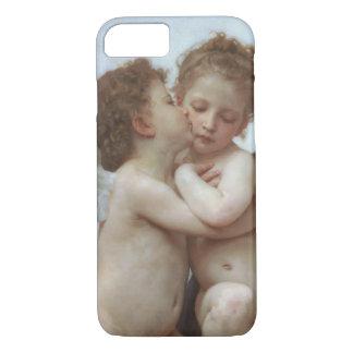 L'Amour et Psyche enfants by William A. Bouguereau iPhone 8/7 Case