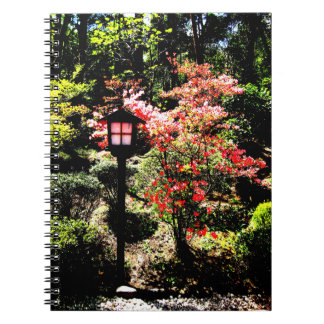 Lamp and Flower Notebook