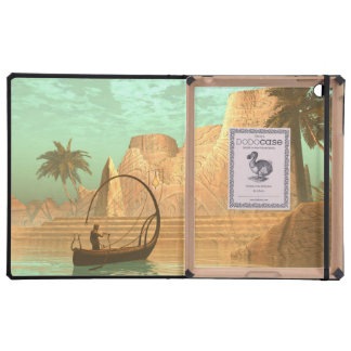 Lamp boat with fairy iPad covers