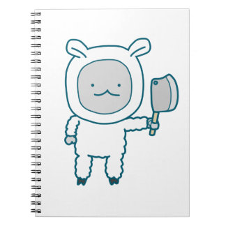 Lamp Chop Notebook