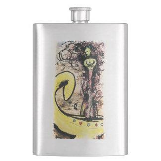 Lamp Genie flask