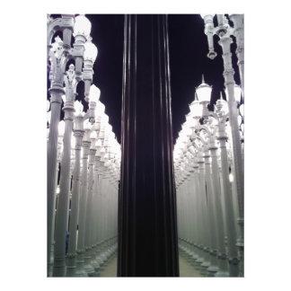 Lamp posts photograph
