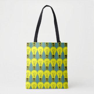 Lamp Yellow Tote Bag