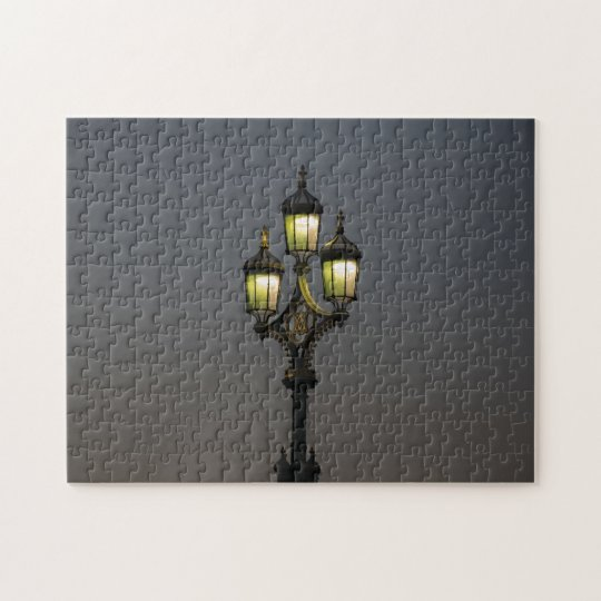 Lamppost photo puzzle
