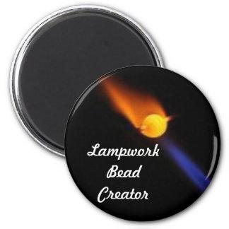 Lampwork Bead Creator Magnet