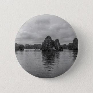 Lan Ha Bay Karst rocks Vietnam 6 Cm Round Badge