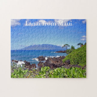 Lanai from Maui Jigsaw Puzzle