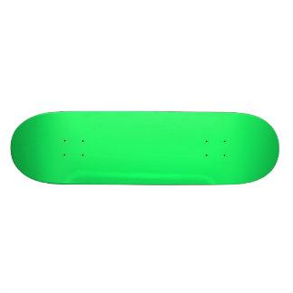 Lanai Lime-Green-Acid Green-Tropical Romance 21.6 Cm Skateboard Deck