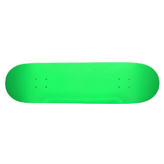 Lanai Lime-Green-Acid Green-Tropical Romance Skate Board Deck