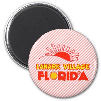 Lanark Village, Florida 6 Cm Round Magnet