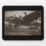 Lancaster Being Loaded with Bombs