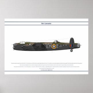 Lancaster BI 207 Squadron Posters