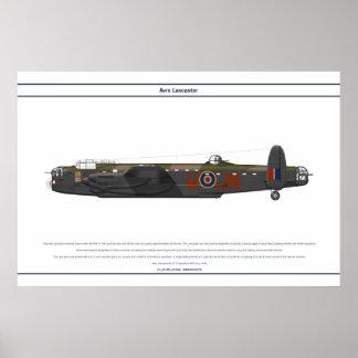 Lancaster BI 75 Squadron Poster