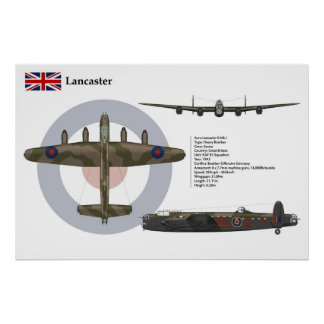 Lancaster BI 83 Squadron Print
