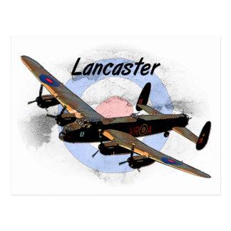 Lancaster Bomber Postcard