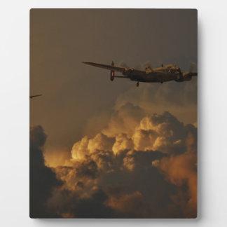 Lancaster bomber STORM Plaque