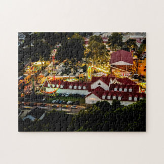 Lancaster Fairgrounds Night Lights Puzzle