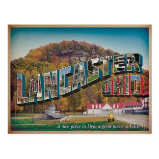 Lancaster Ohio #1 Postcard