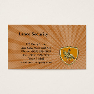Lance Security Business Card