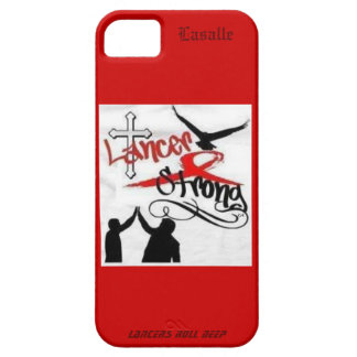 Lancer Strong Lasalle IPhone case