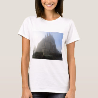 Lancing Chapel in the mist, West Sussex, England, T-Shirt