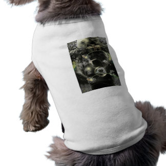 land-380832 WEIRD COLLAGE FANTASY DIGITAL CAT HUMM Dog T-shirt