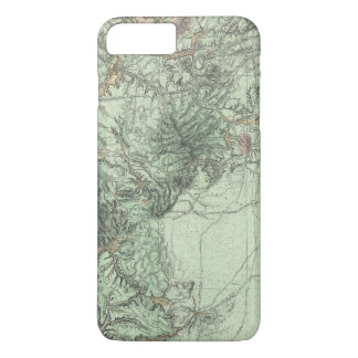 Land Classification Map of Central New Mexico iPhone 7 Plus Case
