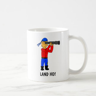 Land Ho Pirate Mug