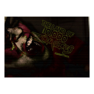 Land of 10,000 Zombies Poster