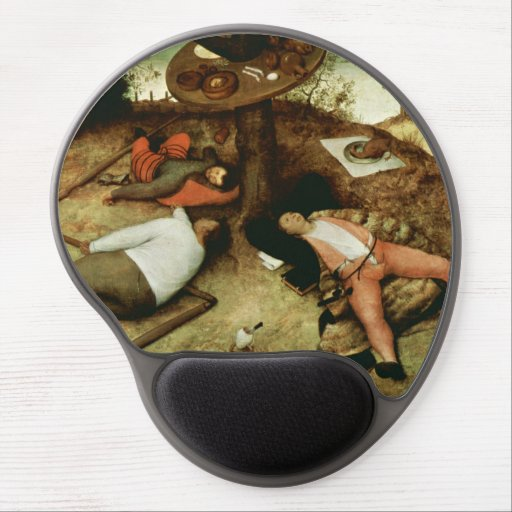 Land of Cockaigne by Pieter Bruegel the Elder Gel Mouse Pad