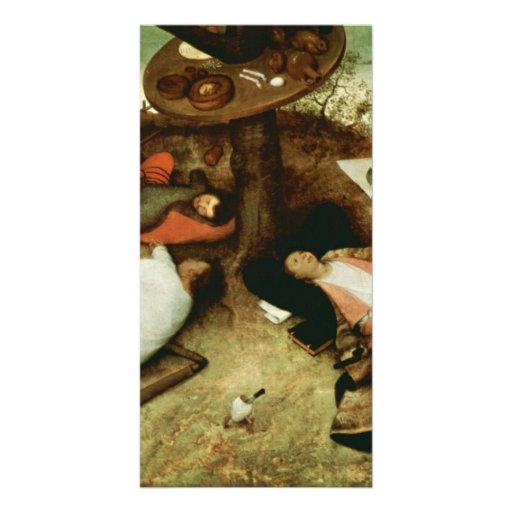 Land of Cockaigne by Pieter Bruegel the Elder Personalized Photo Card