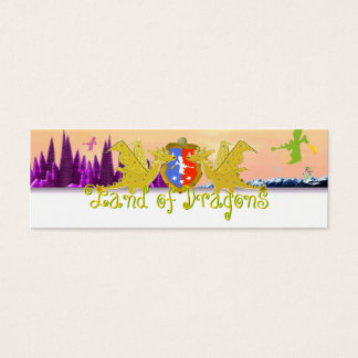 Land of Dragons Name Tag Emma for Kids