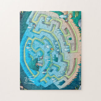 Land of I AM Map Puzzle