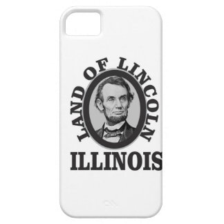 land of lincoln portrait iPhone 5 cover