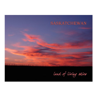 Land of Living Skies Post Card