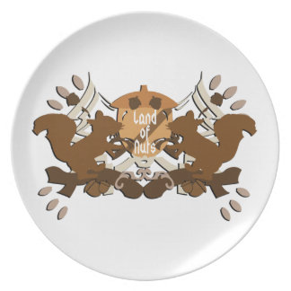 Land of Nuts Squirrels Party Plates