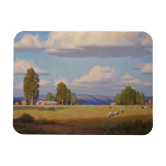 Land Of Plenty Refrigerator Magnet
