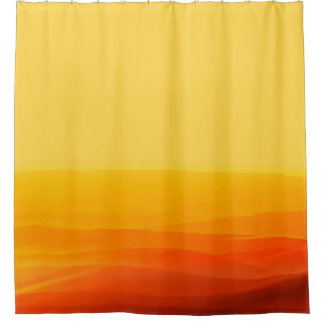 Land of Sand Shower Curtain