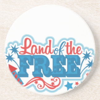 Land of the Free- American gifts, freedom Coaster