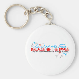Land of the free: Fiance Keychain