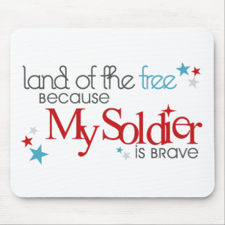 Land of the Free... Mouse Pad