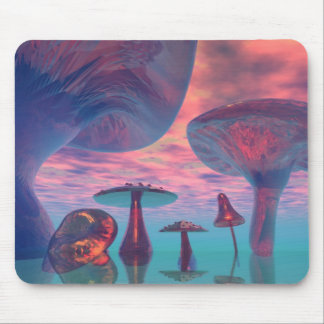LAND OF THE GIANT MUSHROOMS MOUSEPAD